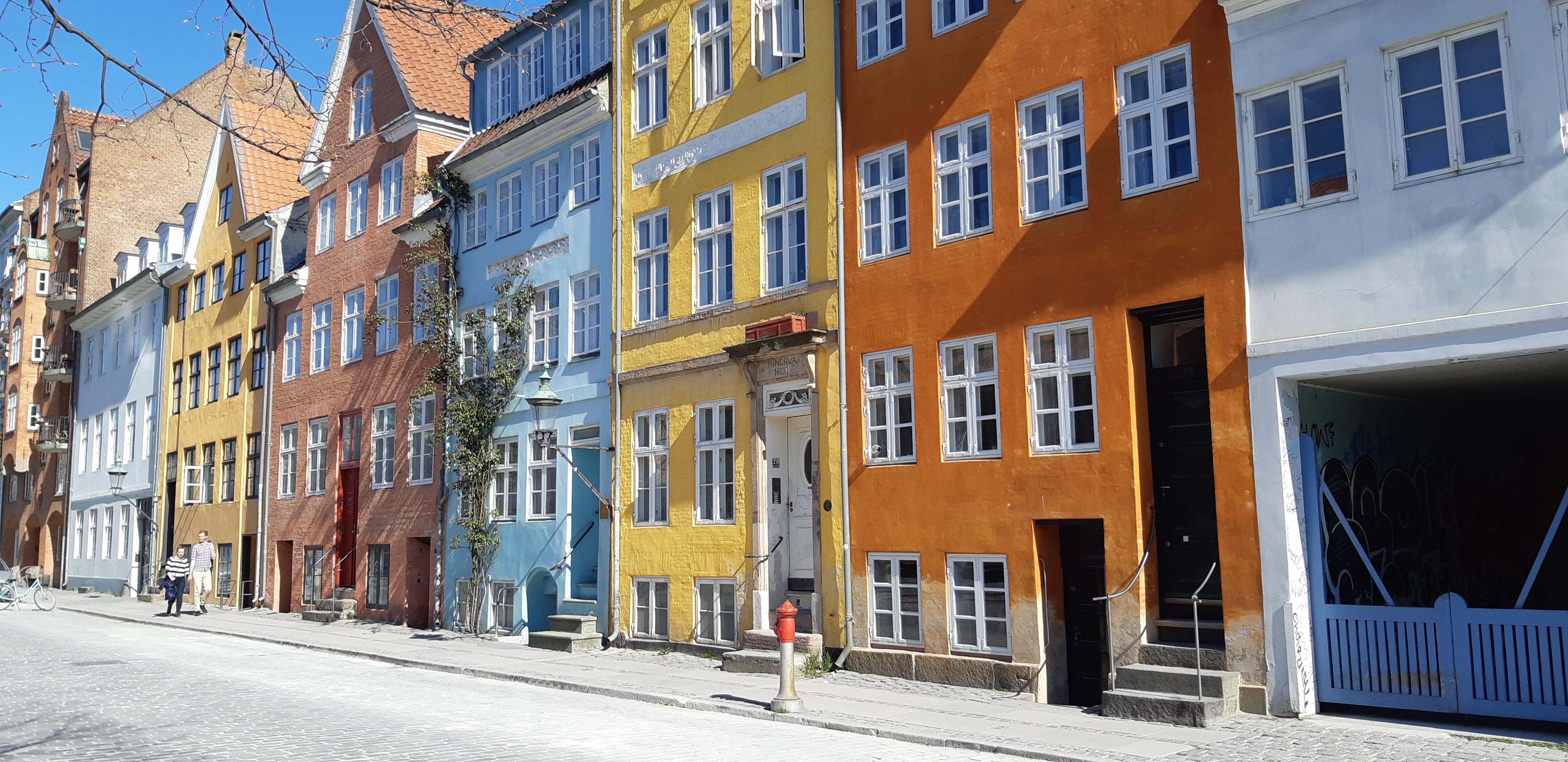 quartier de Christianhavn Copenhague