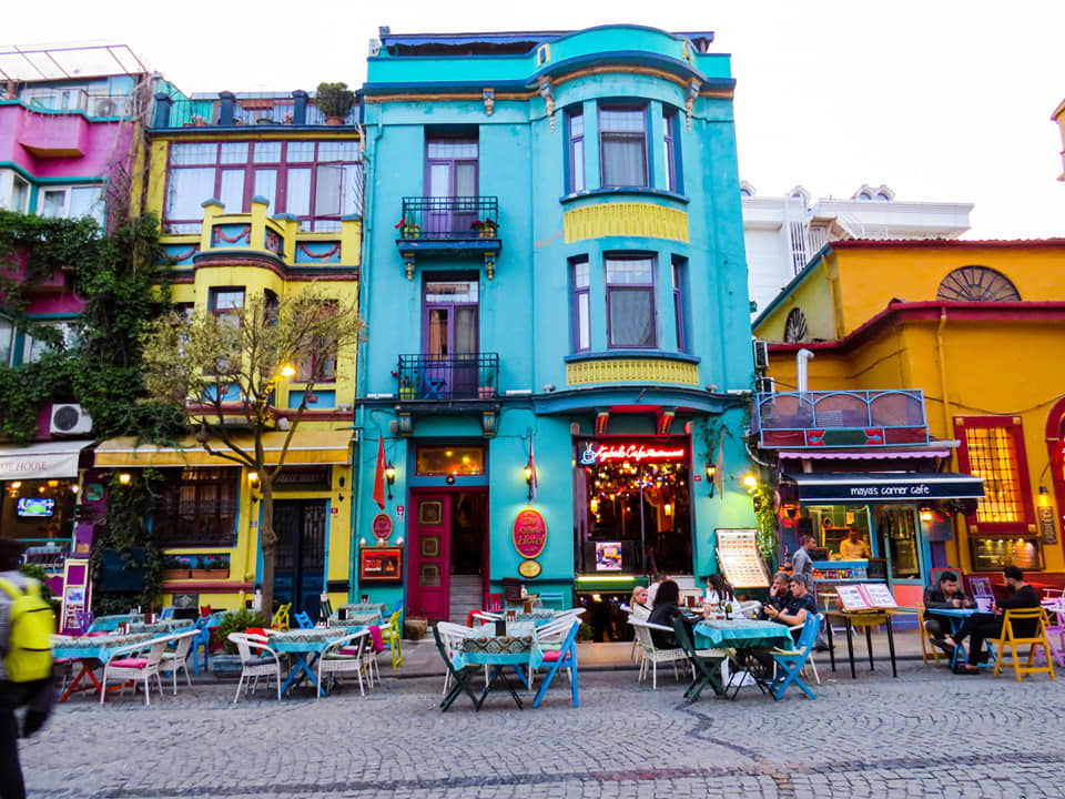 restaurants colorés sultanhamet istanbul