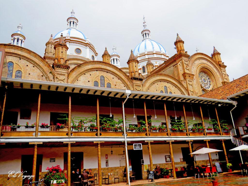 nouvelle cathédrale de Cuenca équateur