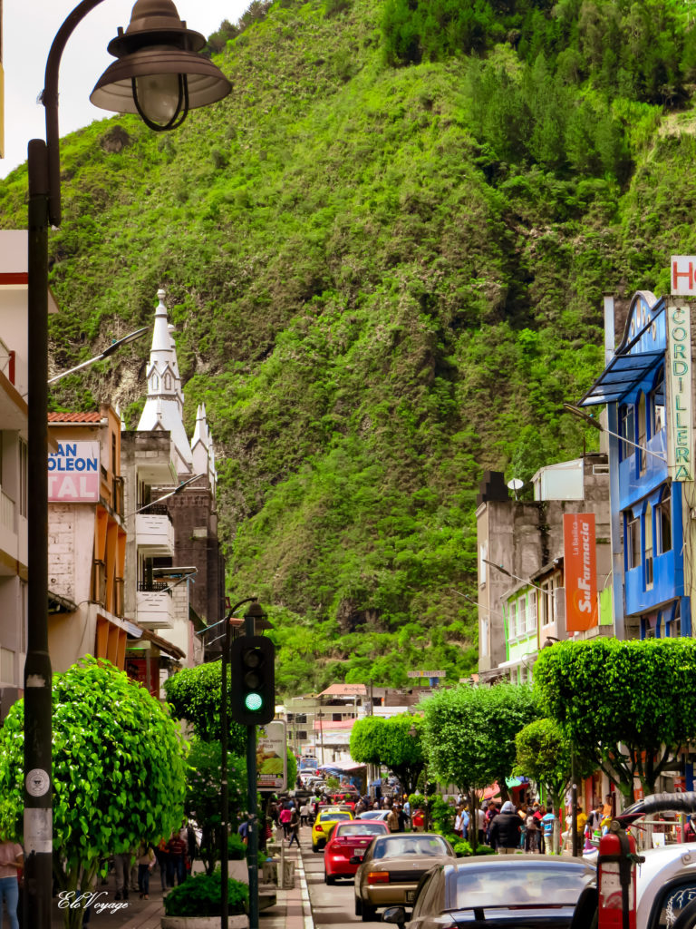 rue de Banos en Equateur