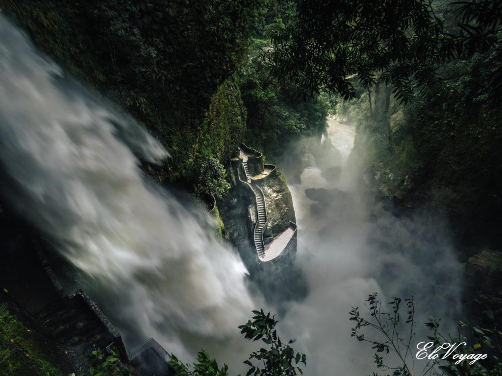 cascade banos chutes d'eau