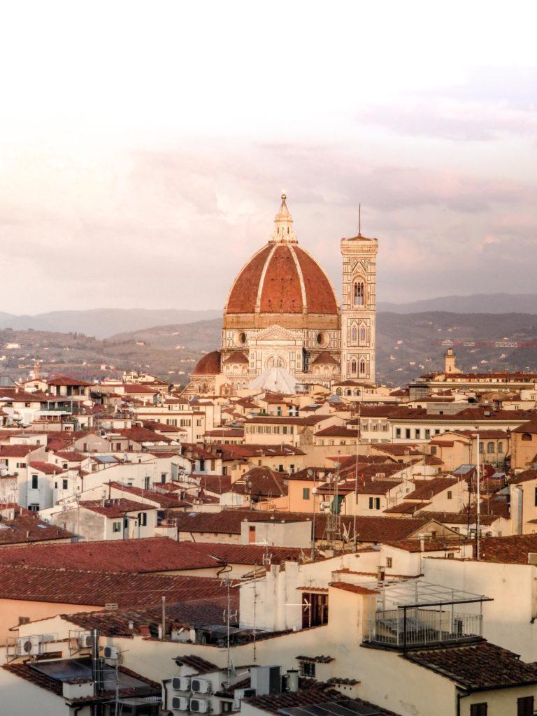 Vue Duomo Florence