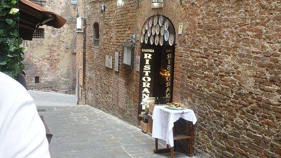 Restaurant Bagoga Grotta Di Santa Caterina Sienne