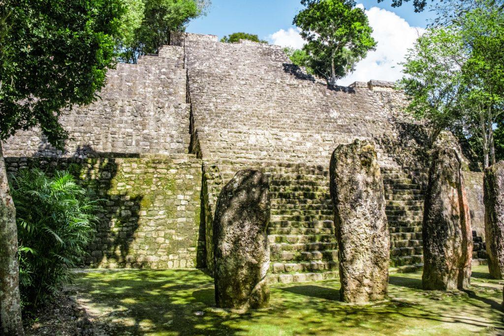 Ruines Mayas Calakmul Campeche Mexique