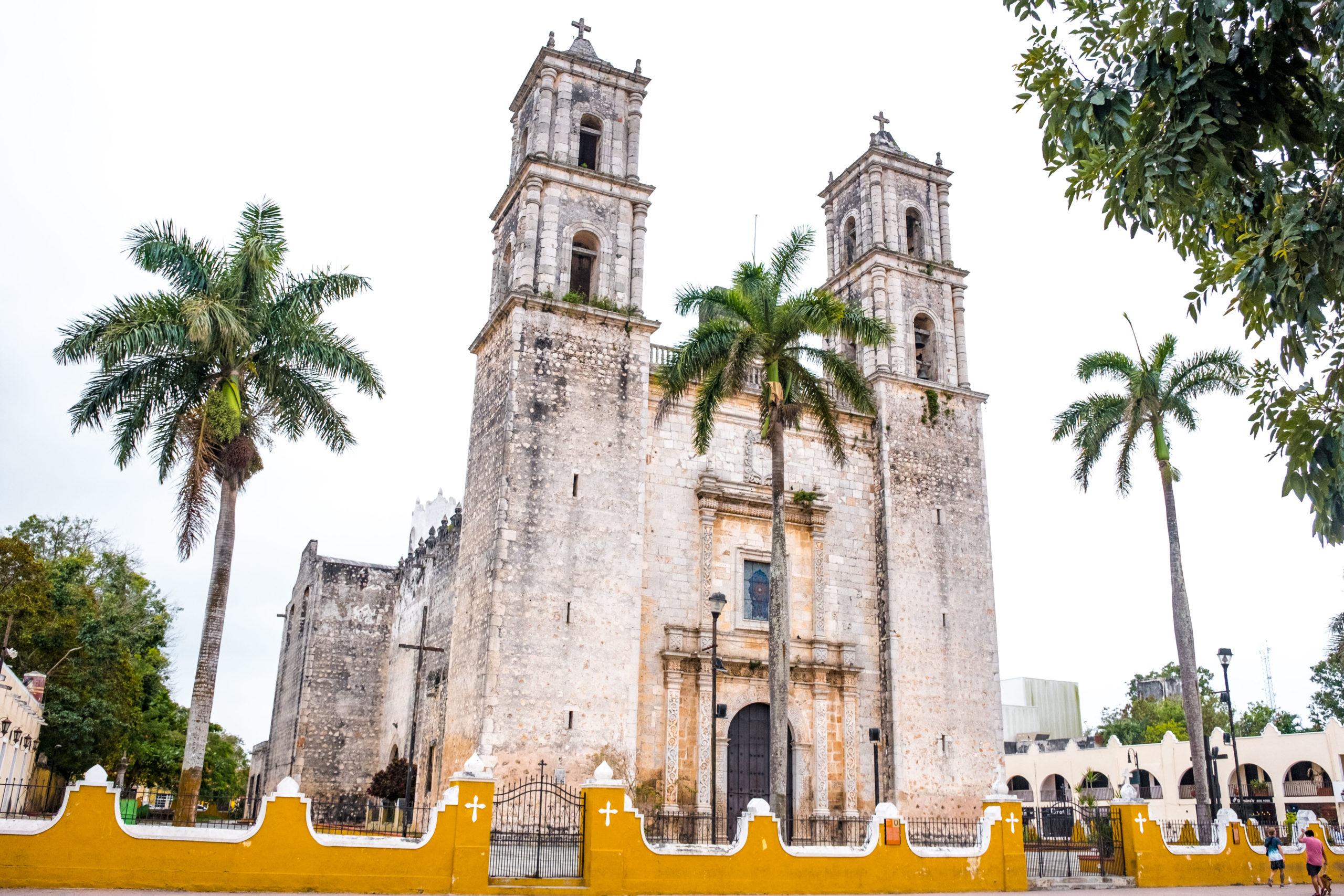 cathédrale Valladolid Yucatan Mexique