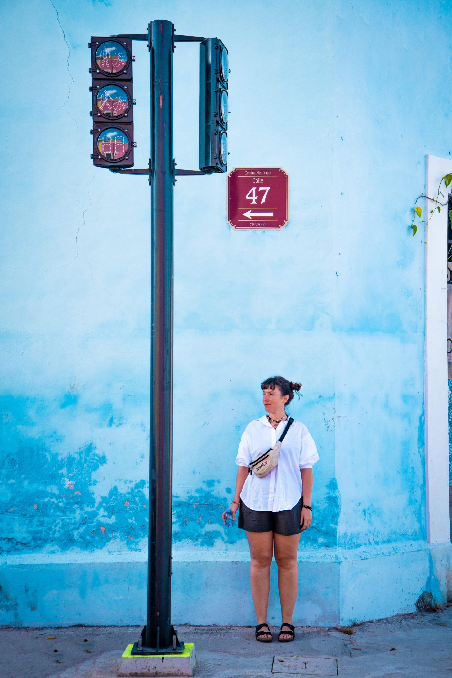 rue Mérida Yucatan Mexique