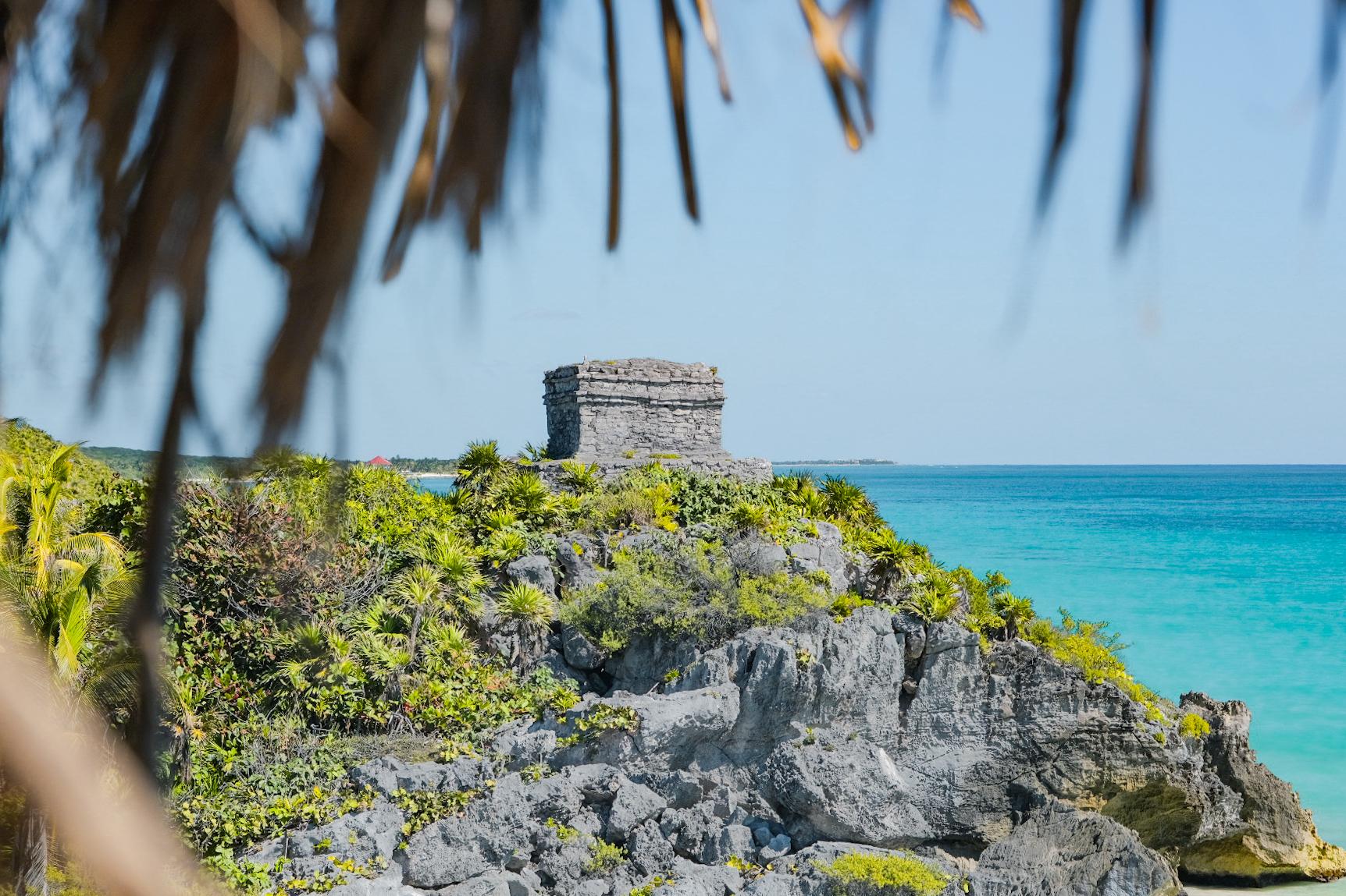 Ruines Mayas Tulum Yucatan Mexique